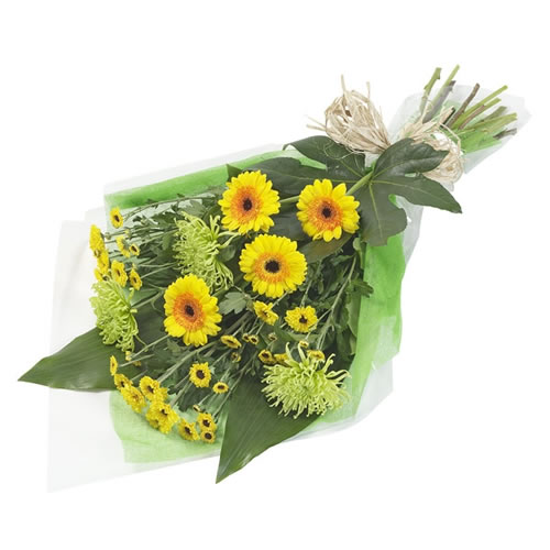 Bouquet Yellow Gerbera