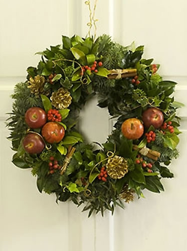 Traditional Door Wreath